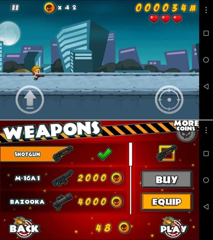 Zombie Tsunami best games under 20 mb