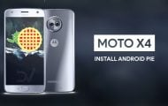 Install Stock Android Pie Firmware On Moto X4