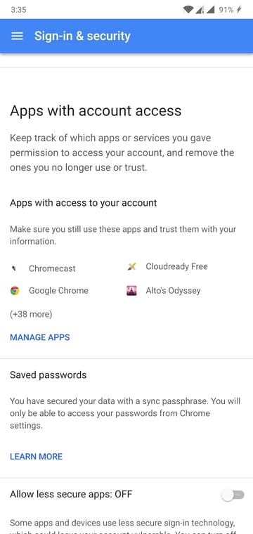 How to Log Out of Google Account (Android) Remotely