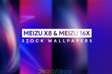 Download Meizu X8 and Meizu 16X Stock Wallpapers