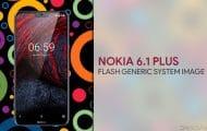 Flash Generic System Image Nokia 6.1 Plus
