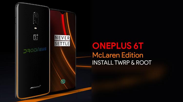 Root OnePlus 6T McLaren Edition