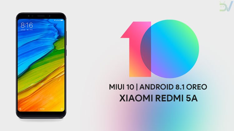 MIUI 10 on Redmi 5A