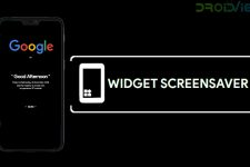Use Widgets as Screensaver