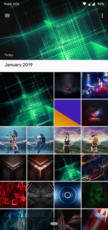 Asus ROG Phone Live Wallpaper