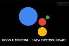 Google Assistant Updates