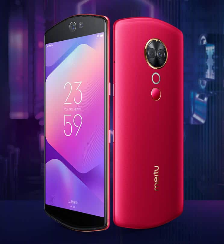 Meitu T9 stock wallpapers