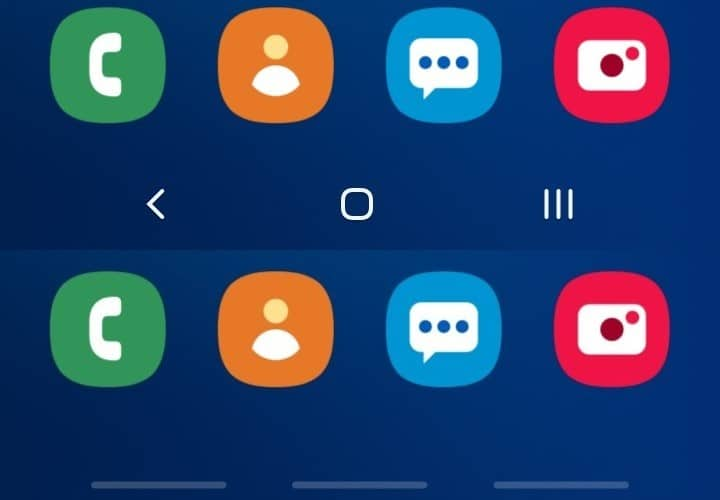 Samsung One UI Features Navigation