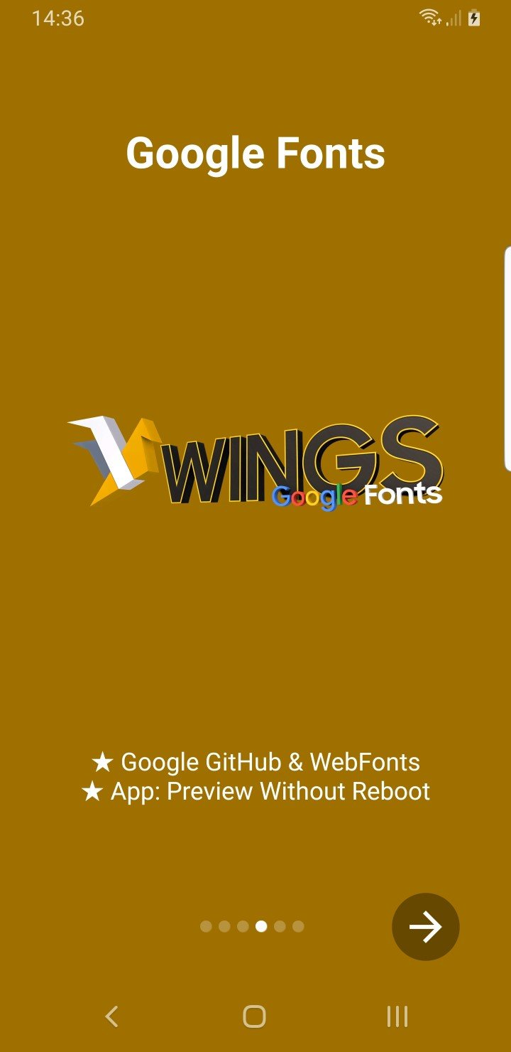 Samsung Wings Fonts 3