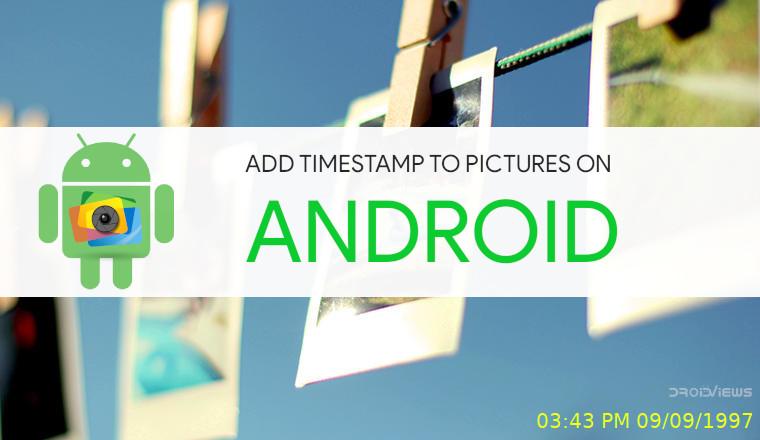 Add Timestamp to Photos