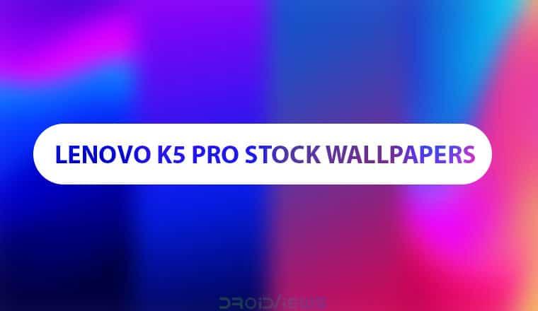 Lenovo K5 Pro Stock Wallpapers