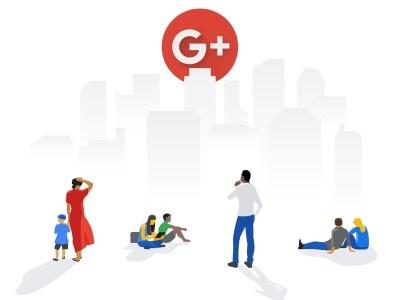 Google+ Shutdown Banner