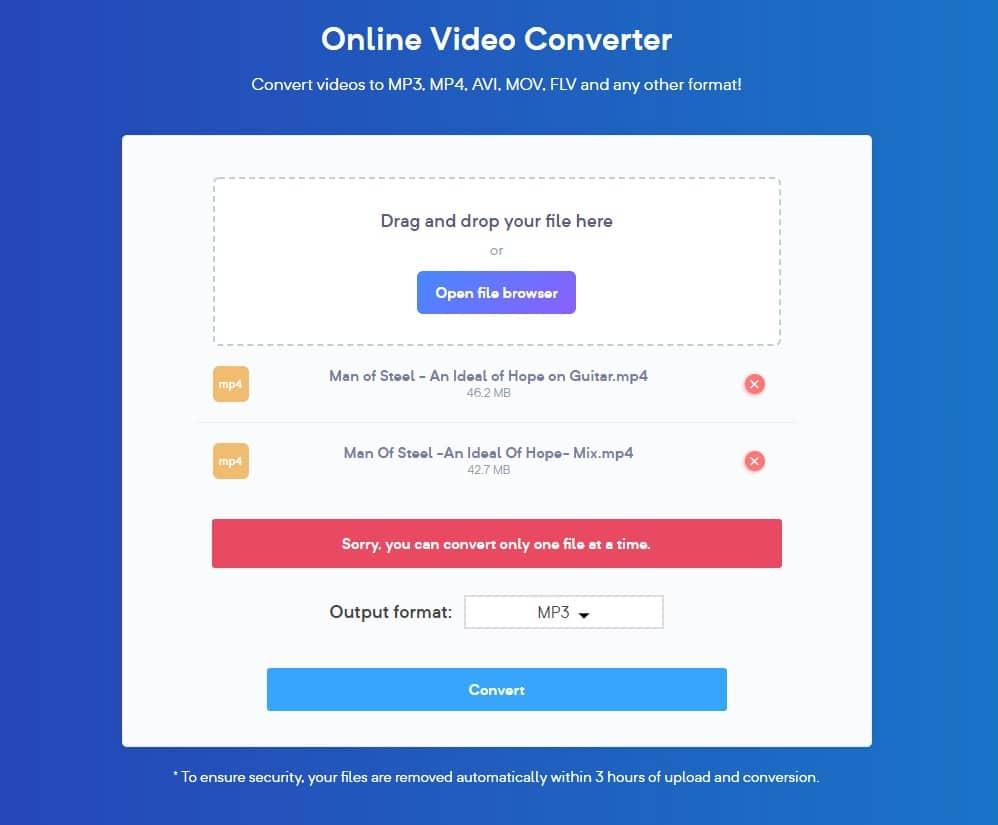 Free media converter