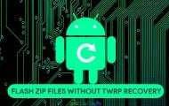 Flash Zip without TWRP