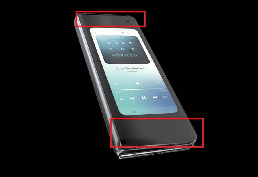 Samsung Galaxy Fold Bezel