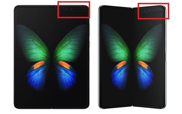 Samsung Galaxy Fold notch