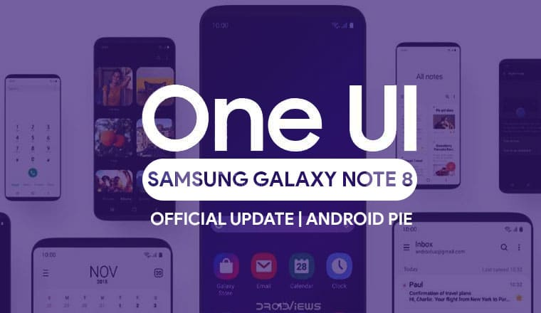 Galaxy Note 8 Android Pie Update with One UI [N950F] | Tutorial