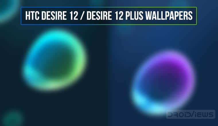 HTC Desire 12 Plus stock wallpapers