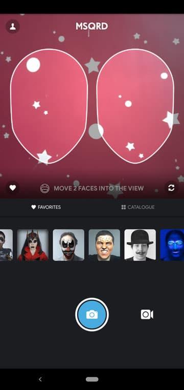 Face swap apps - MSQRD