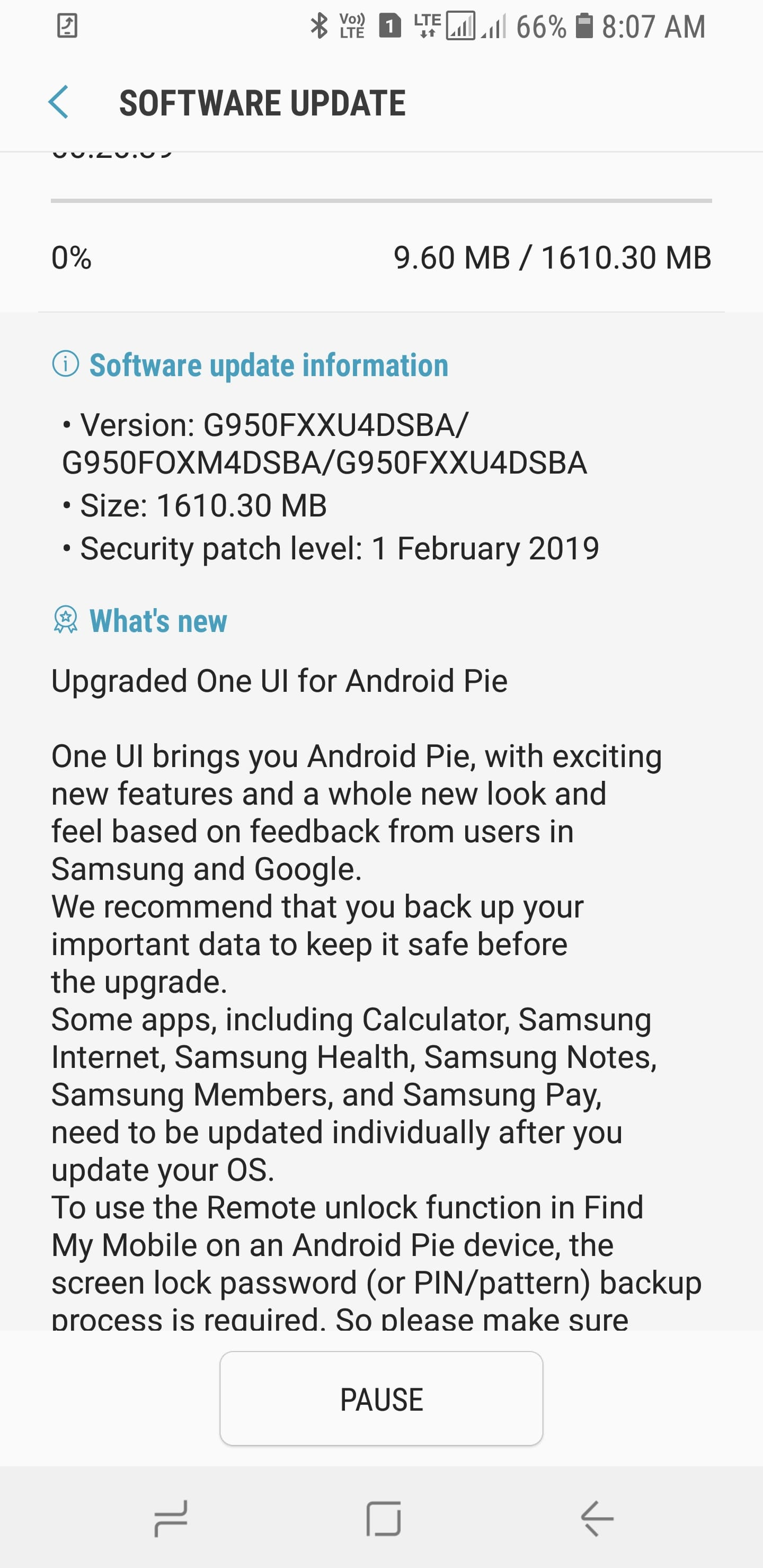 Samsung Galaxy S8 & S8 Plus Android Pie Update | One UI Features