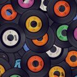 music disc wallpaper