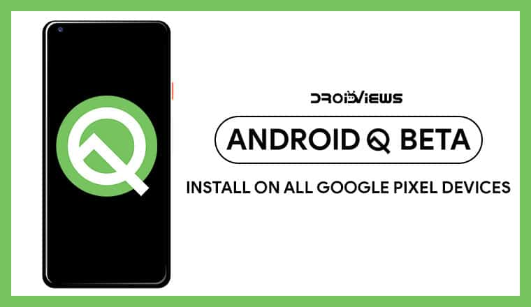 Android Q beta 1 on Pixel