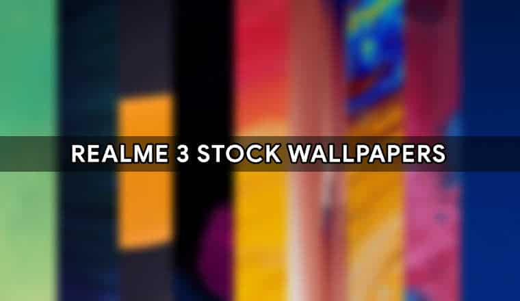 Realme 3 Pro Stock Wallpapers