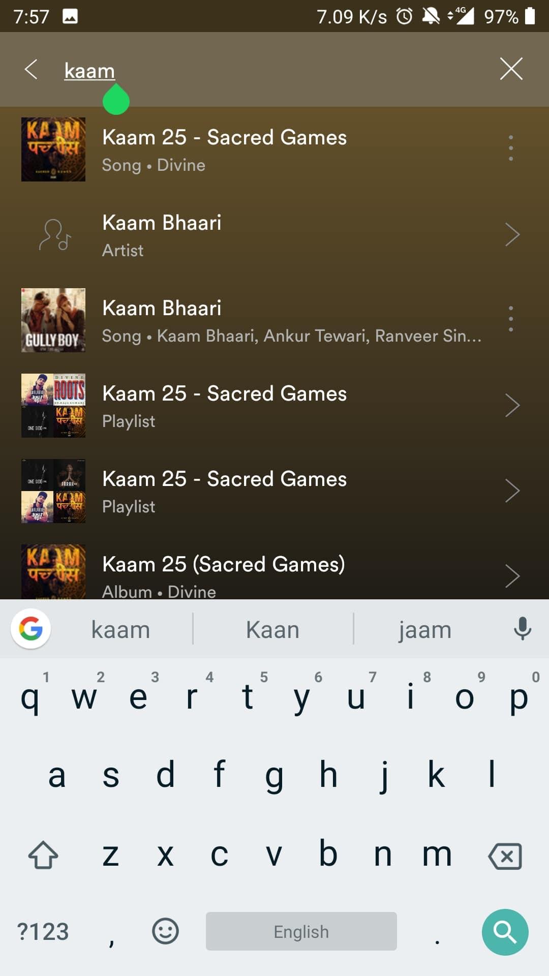 Spotify advanced search 02