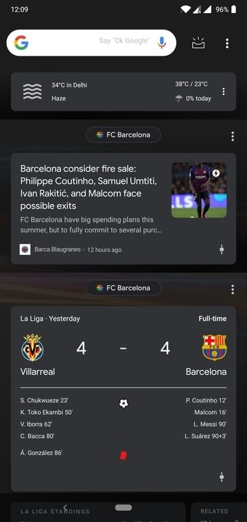 Google discover feed