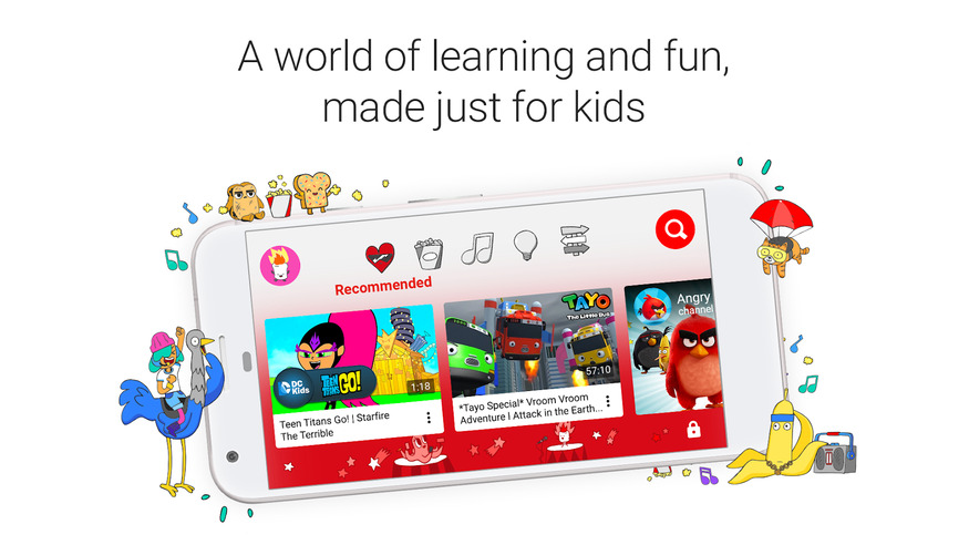 YouTube Kids - Best Android Apps for Kids