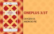 android pie oneplus 3