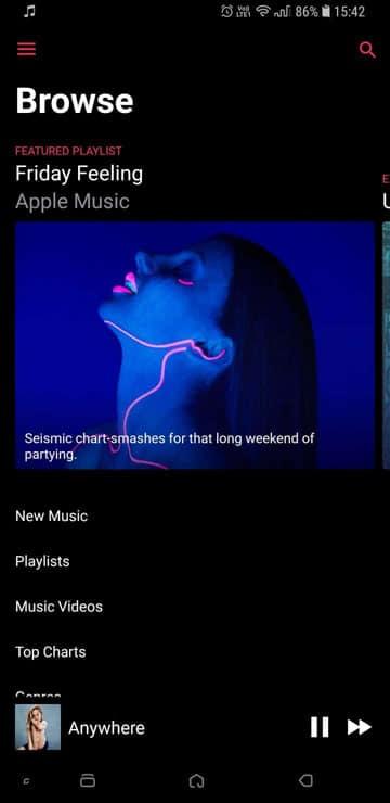 apple music playlist