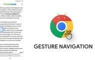 Enable Gesture Navigation On Google Chrome For Android
