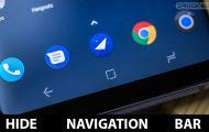 Hide Navigation Bar on Android