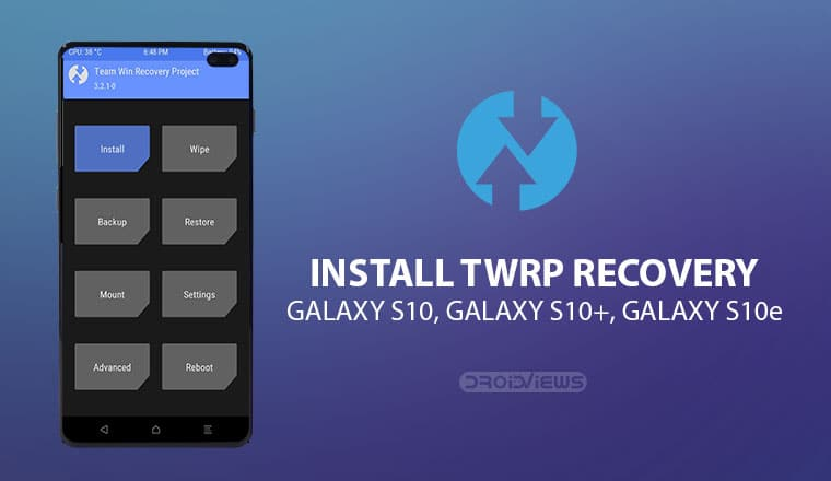 TWRP on Galaxy S10