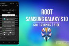root galaxy s10 magisk
