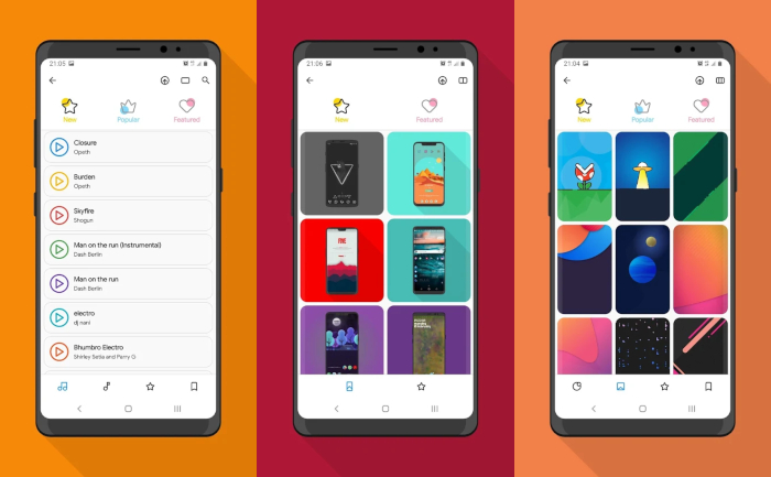 CREATIVE - Android Wallpaper Apps