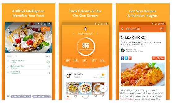 Calorie Mama Image Recognition App