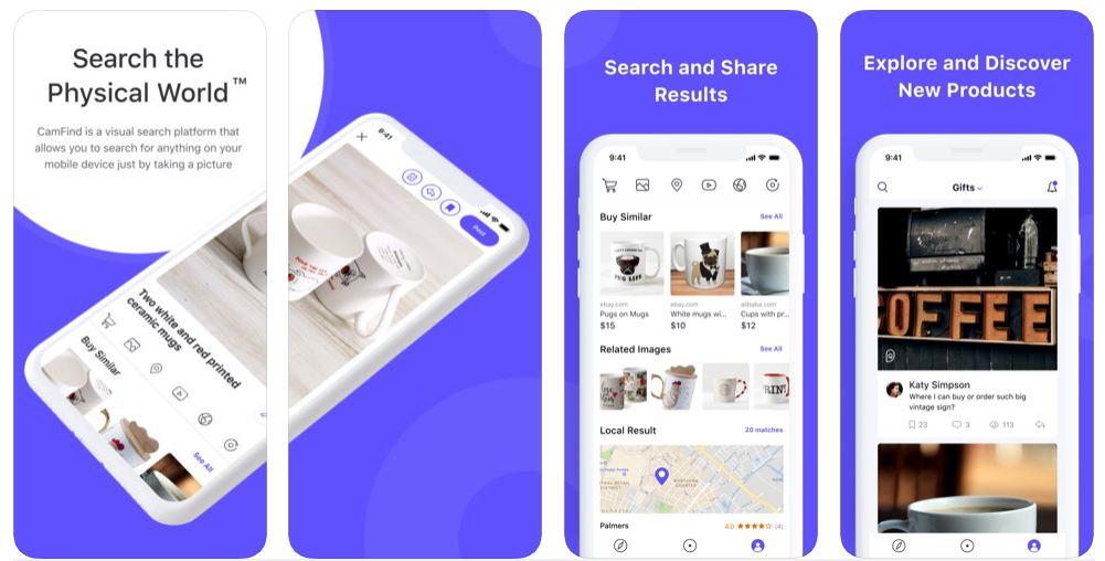 CamFind Image Recognition App