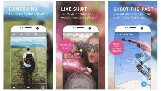 Camera MX photography app