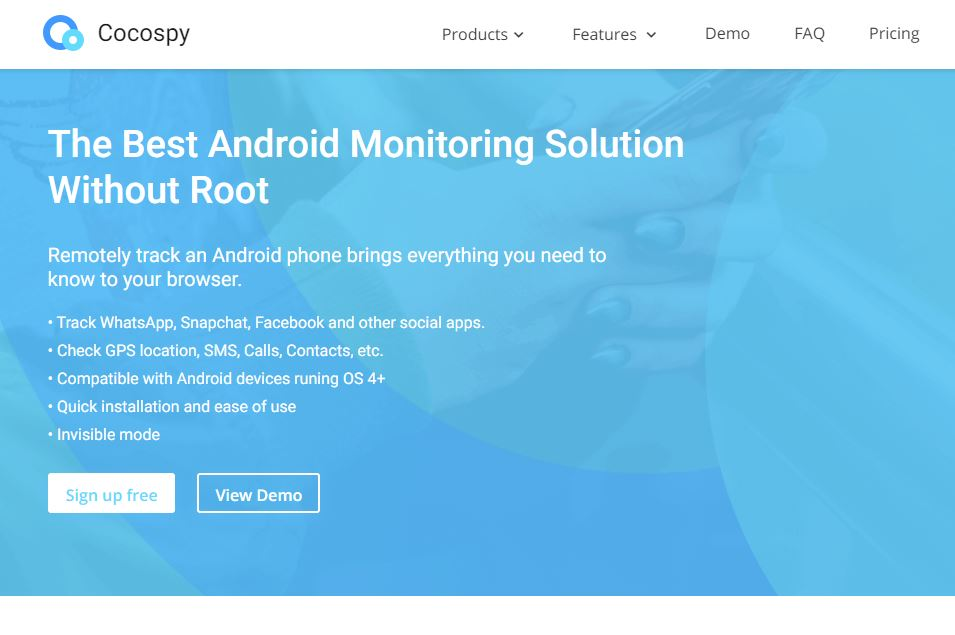 Cocospy Keylogger Android App