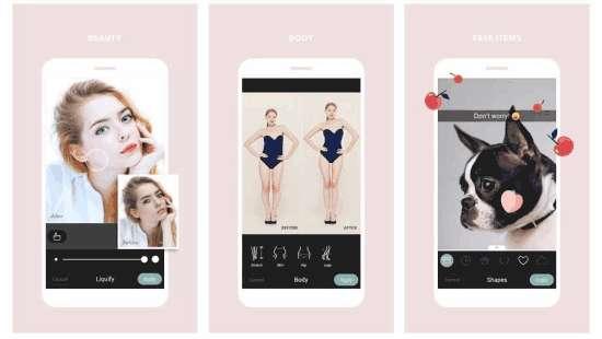 Cymera photography app