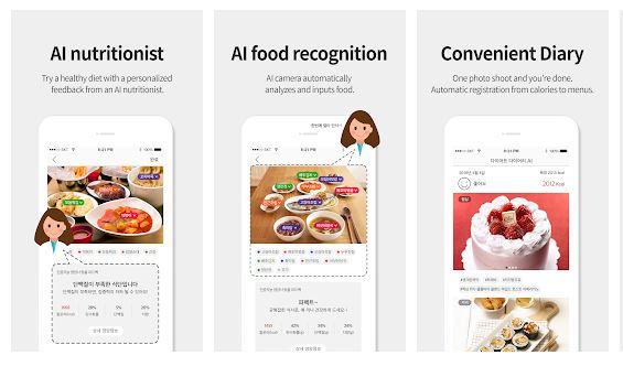 Diet Camera AI Image Recognition App