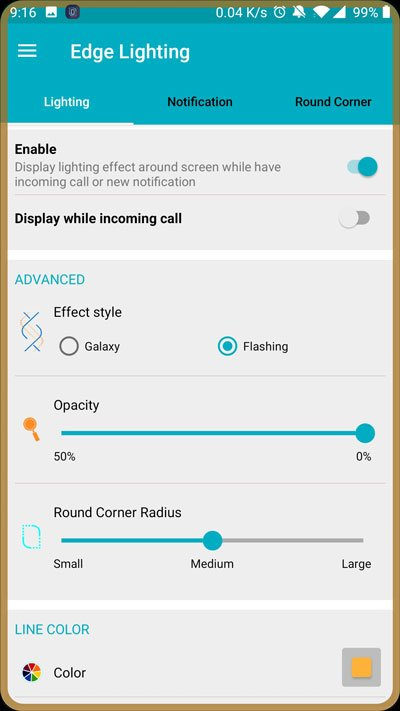 Get Edge Lighting Border Around Screen on Any Android
