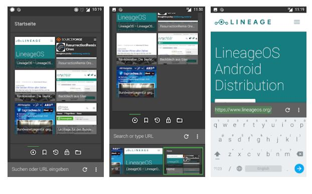 FOSS Browser for Android