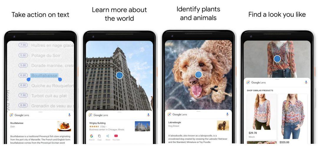 google lens image recognition app