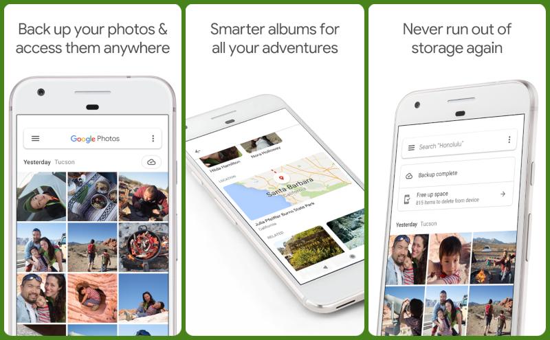 Google Photos gallery app