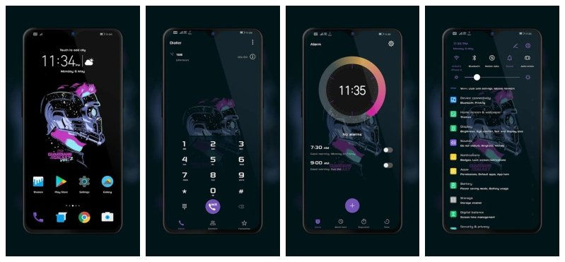 5 Best Dark Themes for EMUI 9 (Huawei Devices) | DroidViews