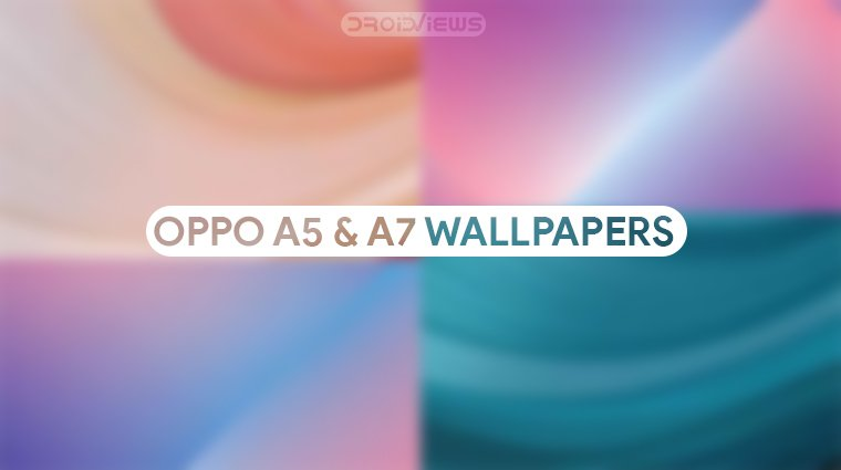 Oppo A5 and A7 Wallpapers