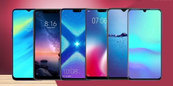 Different types of notch display